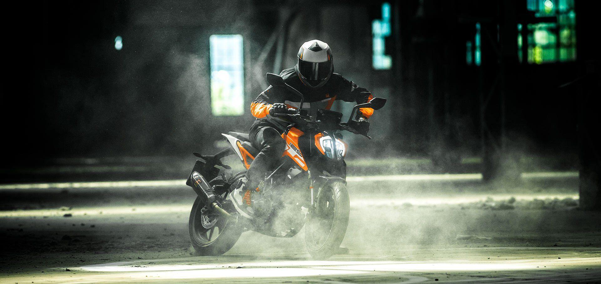 imagen de la nueva KTM Duke 125
